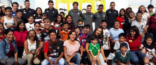 Atlas FC y Club Santos unen fuerzas en Actividad Social